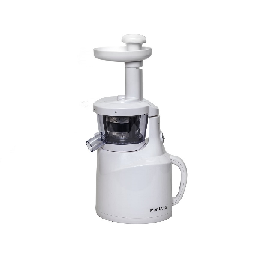 MontAna Slow Juicer met inductie motor PR 179 wit