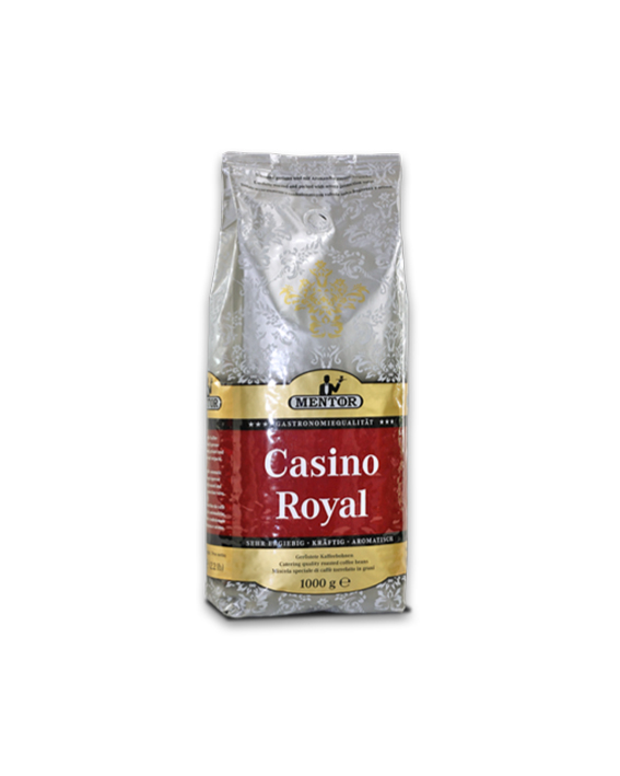 Mentor Casino Royal koffie bonen 1 kg