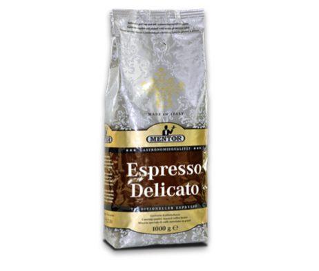 Mentor Espresso Delicato koffie bonen 1kg