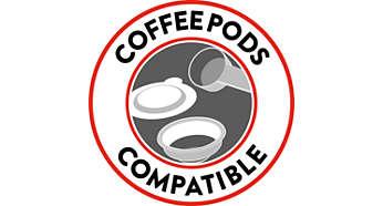 Carezza Deluxe - coffee pods compatible